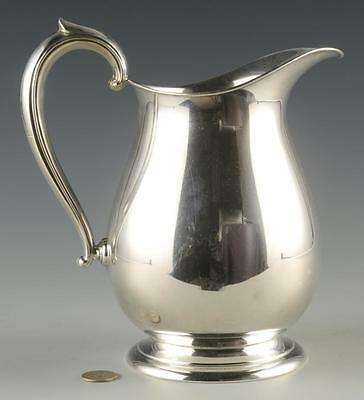 Fisher Sterling Water Pitcher Lot 930