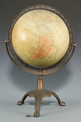 G. A. Mullin Co. Terrestrial Globe on Stand Lot 532