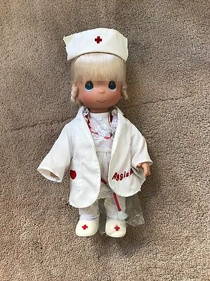 Precious Moments N# 4279 Loving Touch Vinyl Doctor Nurse Doll 12''