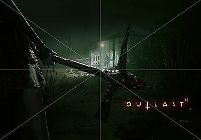 Poster Outlast II 2 tamaño A3 42 x 30 cm. (16,5 x 11,8 inches)