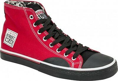 Vision Street Wear Mens Hi Tops Canvas Shoes Skate Trainers