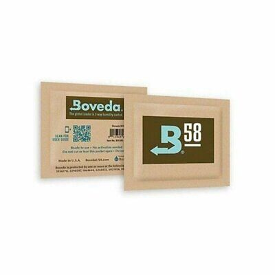 Boveda RH 58% 2 Way Humidity Control Medium 8g Gram - 12 pack