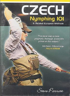 CZECH Nymphing 101 and Related Methods by Steve Parrott ( 2-1/2 Hour DVD)