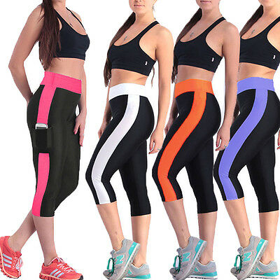 Women Yoga Workout Gym Leggings Fitness Sports Trouser Athletic Sportswear Pants