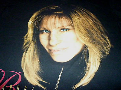 Barbra Streisand vintage Tour Shirt ( Used Size L ) Very Good Condition!!!
