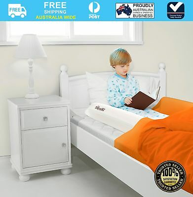 NEW The Shrunks Inflatable Safety Bed Rail + Foot Pump #`SHRIBR
