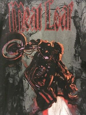 Meat Loaf 2010 Hang Cool Tour Concert T-Shirt Xl