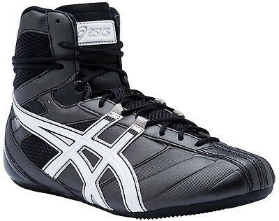 Asics Smasher Boxing Wrestling Boot - Black Shoe Martial Arts boxing boot