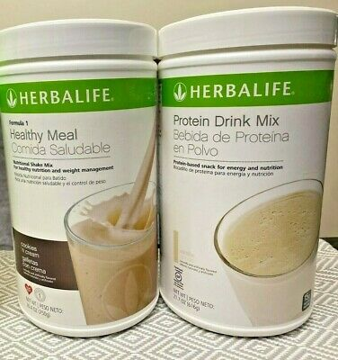 HERBALIFE FORMULA 1 HEALTHY MEAL & PROTEIN DRINK MIX (ALL FLAVORS)  free shippin