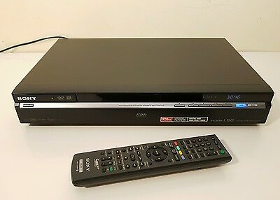 Sony DVD Recorder with 120GB hard disc RDRHXD770B DVR