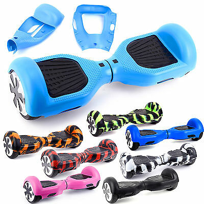 "Silicone Protector Case Cover Skin for 6.5"" Smart Balancing Scooter Hoverboard"