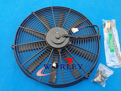 "14"" 12V Thermo Radiator Cooling Fan GTI/V8/GTR/GTS + Mounting kit 14 INCH"