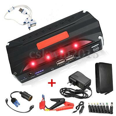 80000mAh Car Jump Booster Emergency Power Bank Charger EMERGENZA CARICABATTERIE