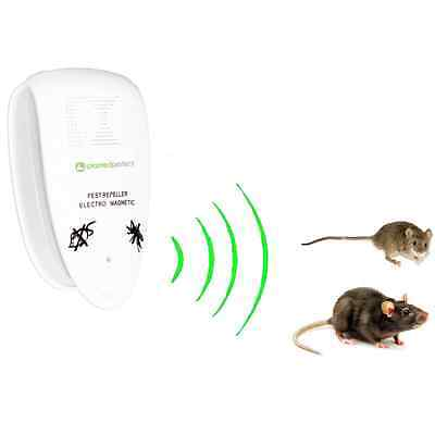 PRO PEST CONTROL - Ultrasonic Rodent Mouse Rat Repeller Humane Trap Alternative
