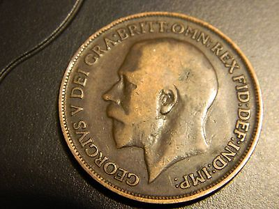 1918 Great Britain One Penny --INV49