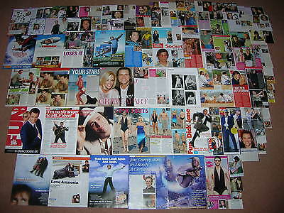 110- JIM CARREY Magazine Clippings
