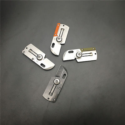 Pocket EDC Knife Stainless Steel Folding Blade Outdoor Camping Hiking Knife