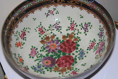 Antique Fine Quality Chinese Large Famille Rose Bowl