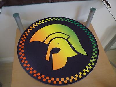 "Limited Edition/RARE TROJAN RECORDS 12"" or 7"" DJ SLIPMAT slip mat platter NEW"