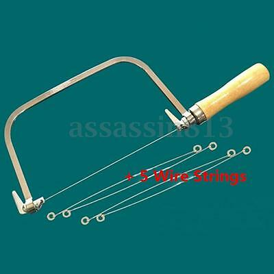 Soap Loaf Wire String Cutter Saw Soap Candle Wax Slice Making 5 Wire Strings New