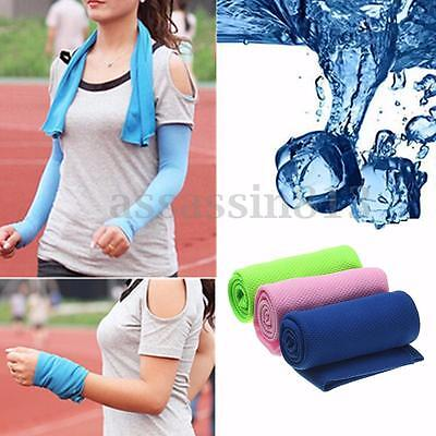Enduring Running Jogging Gym Ice Cold ChillyInstant Instant Cooling Towel Sports