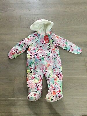 NEW-infant puffa snow suit 6-9 months