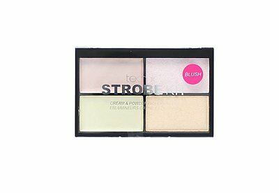 Technic Strobe Kit 2 Cream & 2 Powder Blush Highlighter Palette, Animal Cruelty