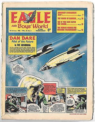 Eagle vol 16 no 3 (16th Jan 1965) Frank Bellamy's Heros the Spartan