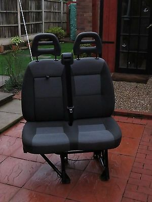 Front twin passenger Seat suitable for Boxer / Ducato / Relay.