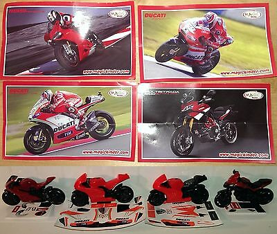 Ducati Mini Gran Sorpresa, Ferrero, Kinder, compl. set incl. all Bpz
