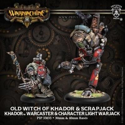 Old Witch of Khador & Scrapjack