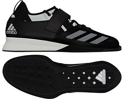 adidas Crazy Power Men's Weightlifting Shoe - Black/White - Free P&P