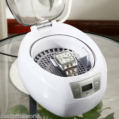 Ultrasonic Cleaner Timing Function LCD Cleaning Machine for Glasses Jewelry