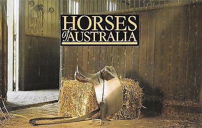 1986 Horses Of Australia Stamp Pack & First Day Cover