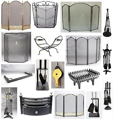 Fireside Fireplace Accessories For Chimney Companion Sets Scuttle Grate Ash New