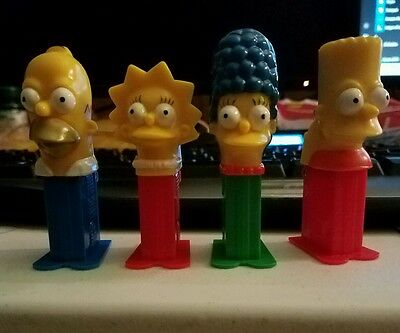The Simpsons PEZ Candy Dispensers Party Favors Family