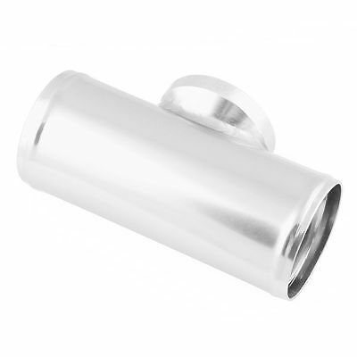 """2.5""""63MM Flange Adapter Piping HKS SSQV SQV BOV Blow Off Valve Tube Pipe Silver"""