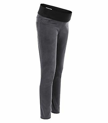 """BNWT New Look Maternity Grey Under Bump Jeans Jeggings  12 14 16 18 - 28 30 32"""""""