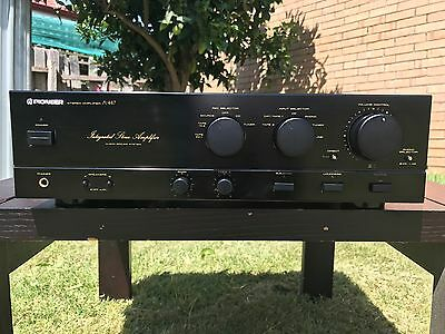 Pioneer A-447 Stereo Integrated Amplifier (1990)