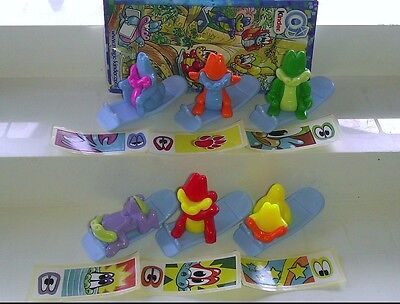 Kroko Toys Joy, Ferrero, Kinder, compl. set with all Bpz