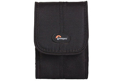 Lowepro Stockholm 20 Compact Camera Case Black Nylon and Polyster Soft Pouch