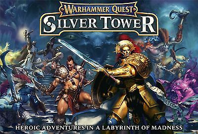 Brand New SILVER TOWER Warhammer quest age of sigmar box STORMCAST aelf duardin