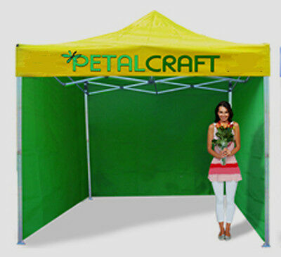 Mobile Gazebo Market Stall Heavy Duty Aluminium Hexagon Frame 40Mm Legs