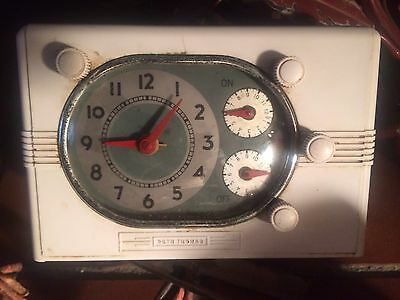 Vintage Seth Thomas Universal Automatic Range Clock Timer 1930-40 (as is parts)