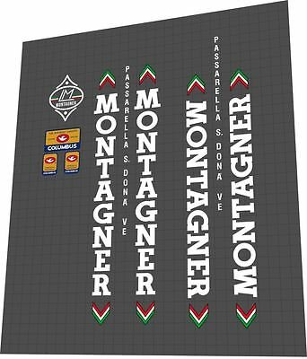 MONTAGNER Passarella S. Dona VE Sticker / Decal Set