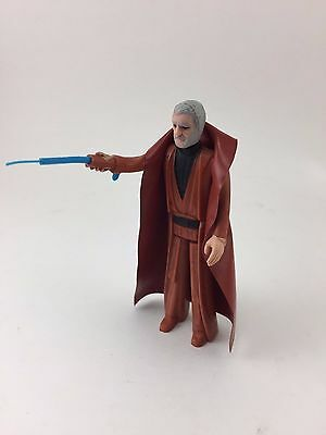 Obi Wan Kenobi Star Wars Action Figure Original Grey Hair Complete 1977