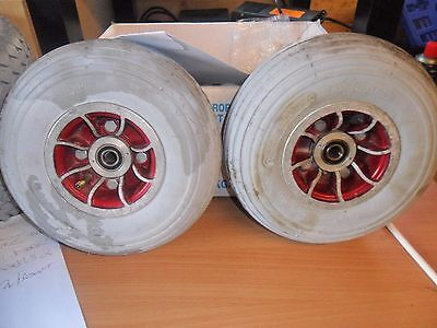 2 shoprider mobility scooter front wheels 260x85