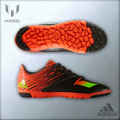 Adidas Boys Messi 15.3 Astro Turf Football Trainers All Sizes From 13 To 5.5