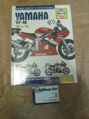 Haynes Manual 3900 For YAMAHA YZF-R6. 99 to 02