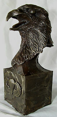 Limited Edition Cold Cast Bronze 101st Airborne Eagle Band of Brothers WW II  3D